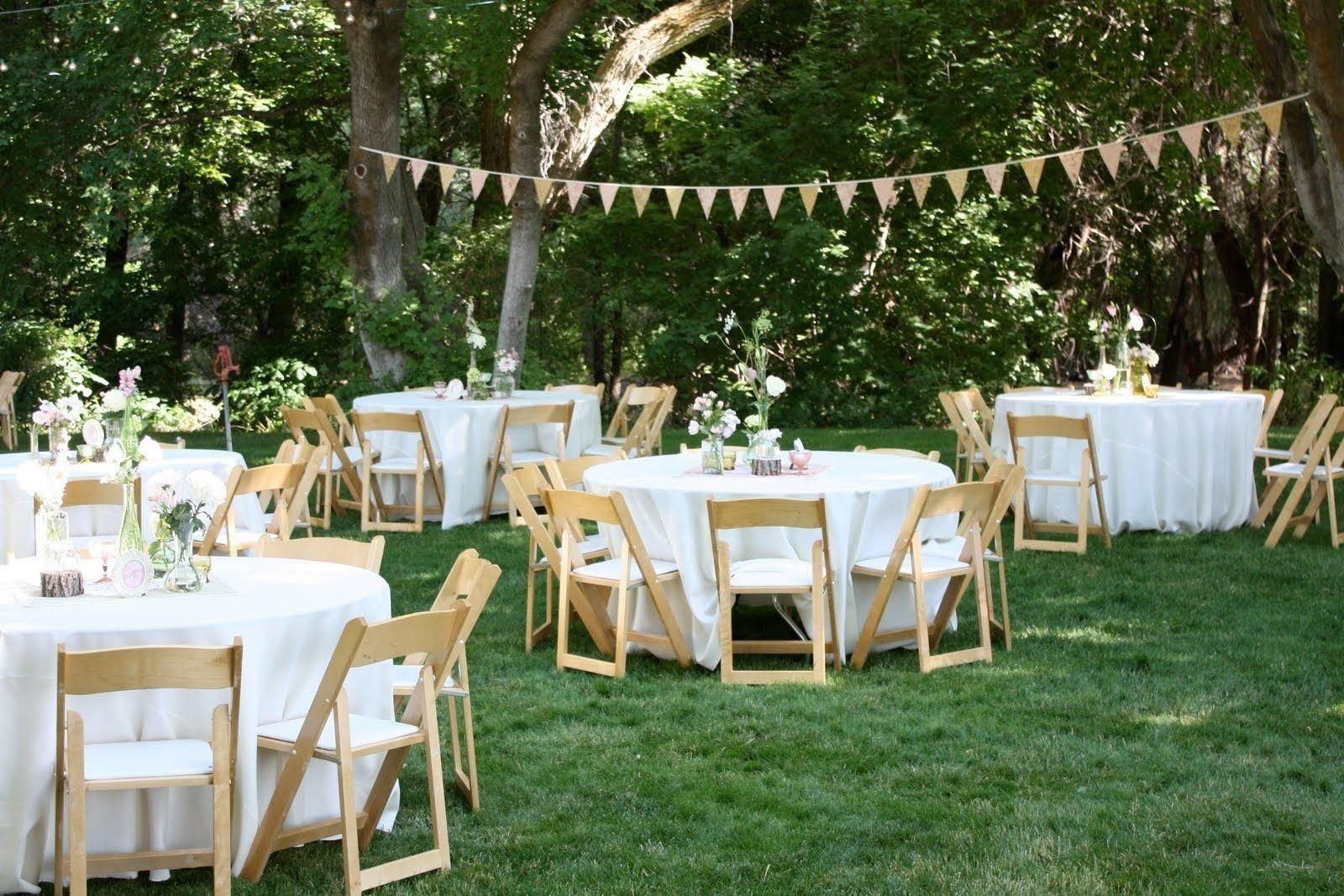 10 Ideal Wedding Ideas For Small Weddings backyard wedding reception decoration ideas wedding event 2021