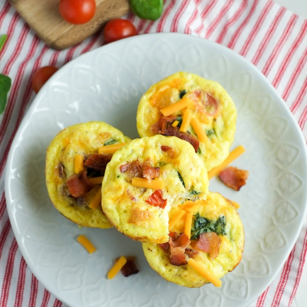 10 Elegant Healthy Breakfast Ideas With Eggs bacon spinach tomato breakfast egg cups recipe healthy ideas 2020