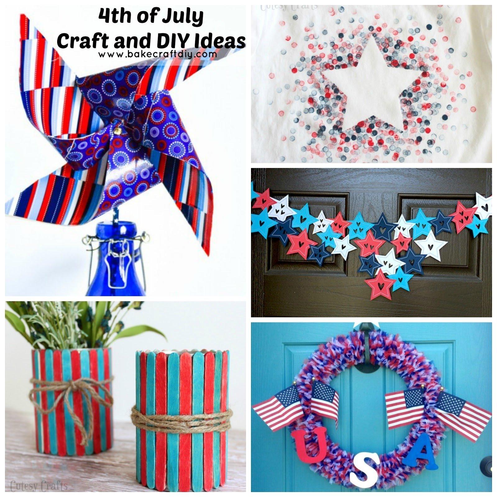 10 Amazing Fun 4Th Of July Ideas bake craft diy 4th of july crafts and diy ideas 2021