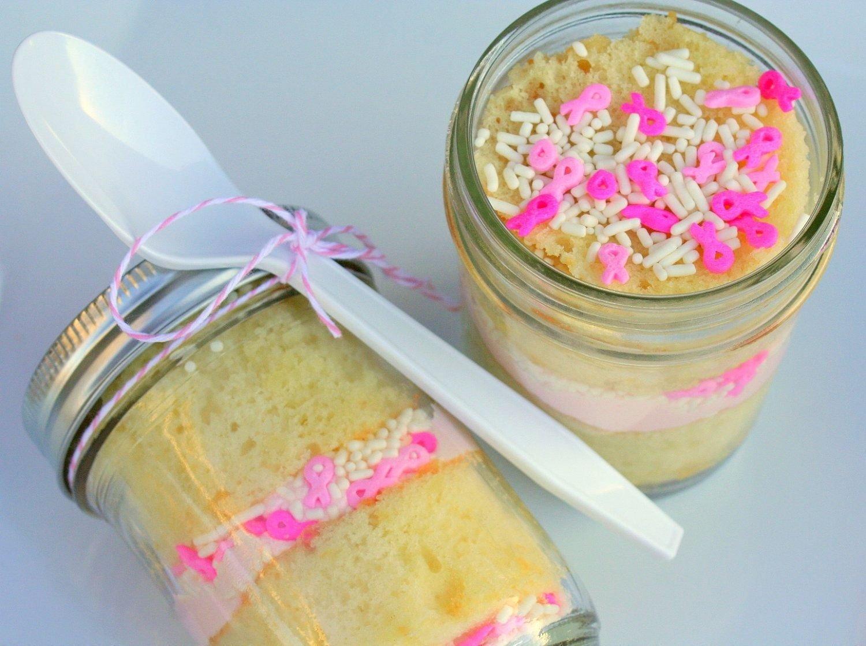 10 Stylish Breast Cancer Bake Sale Ideas bake sale ideabreast cancer awareness pink ribbon vanilla 2021