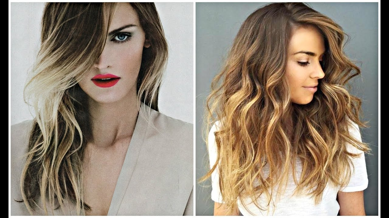 balayage hair color ideas - ombre, highlights & more - youtube
