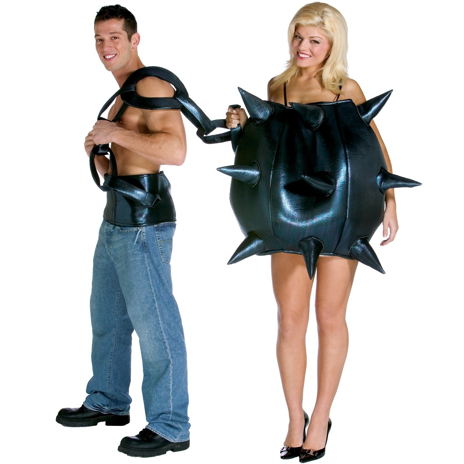 10 Most Popular Funny Couples Halloween Costume Ideas ball and chain couples costumes halloween couples costumes 1 2021
