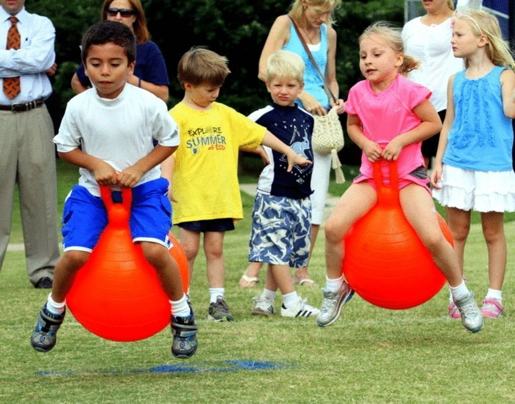 10 Awesome Relay Race Ideas For Adults ball jump relay race field day school field day ideas 1 2020