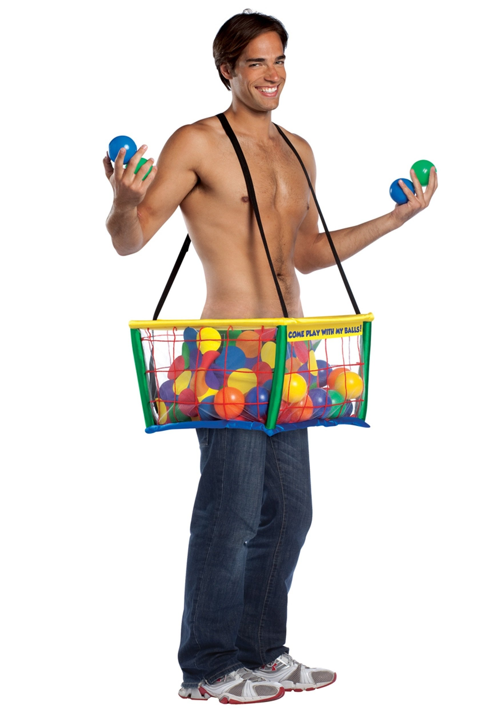 10 Best Funny Halloween Costume Ideas Men ball pit costume 1 2021