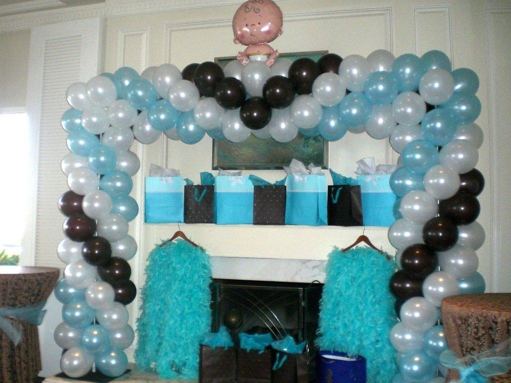 10 Nice Baby Shower Balloon Decoration Ideas balloon decoration ideas for baby shower the cheerful balloon baby