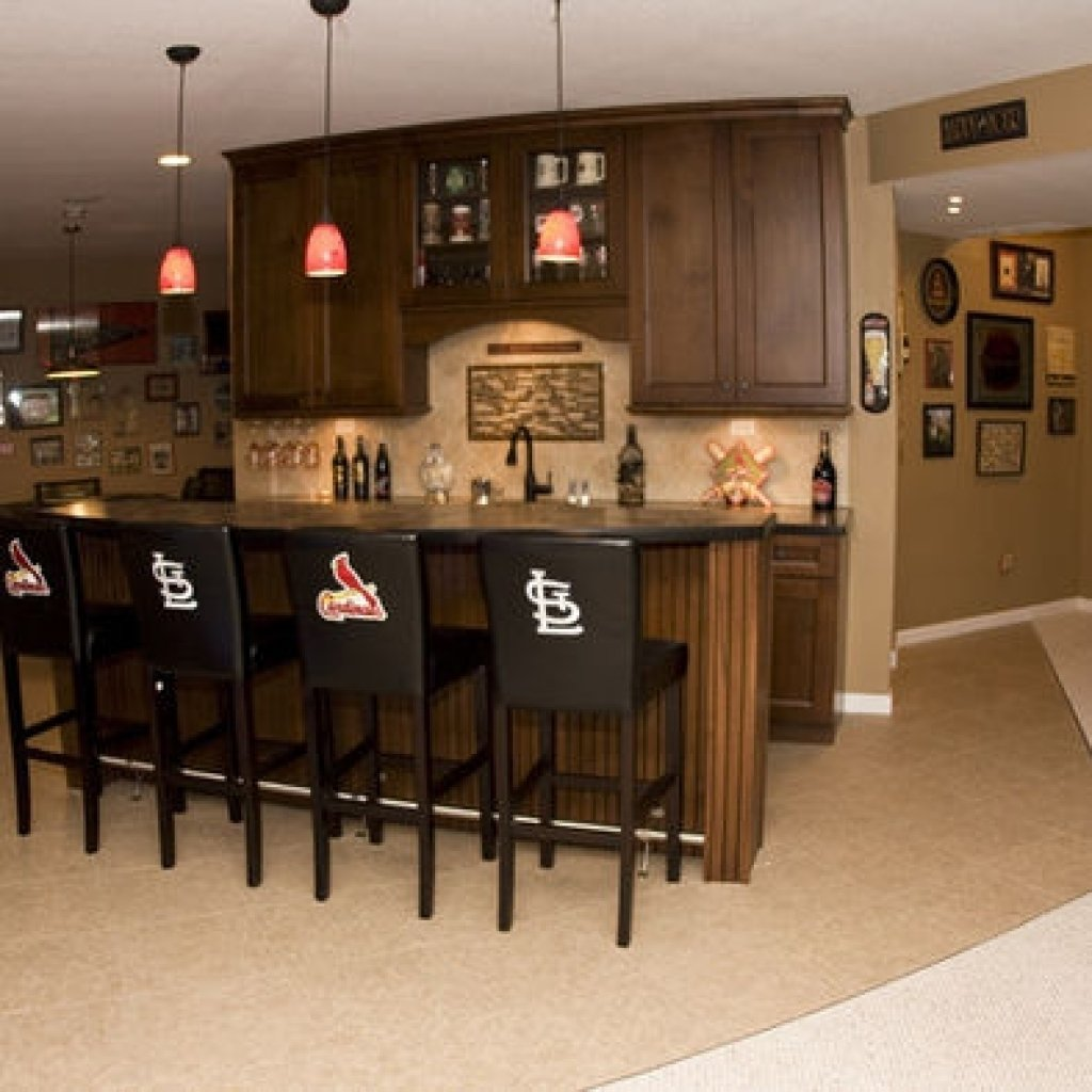 10 Lovable Bar Ideas For Small Spaces bar in basement ideas basement bar ideas for small spaces inside 1 2020