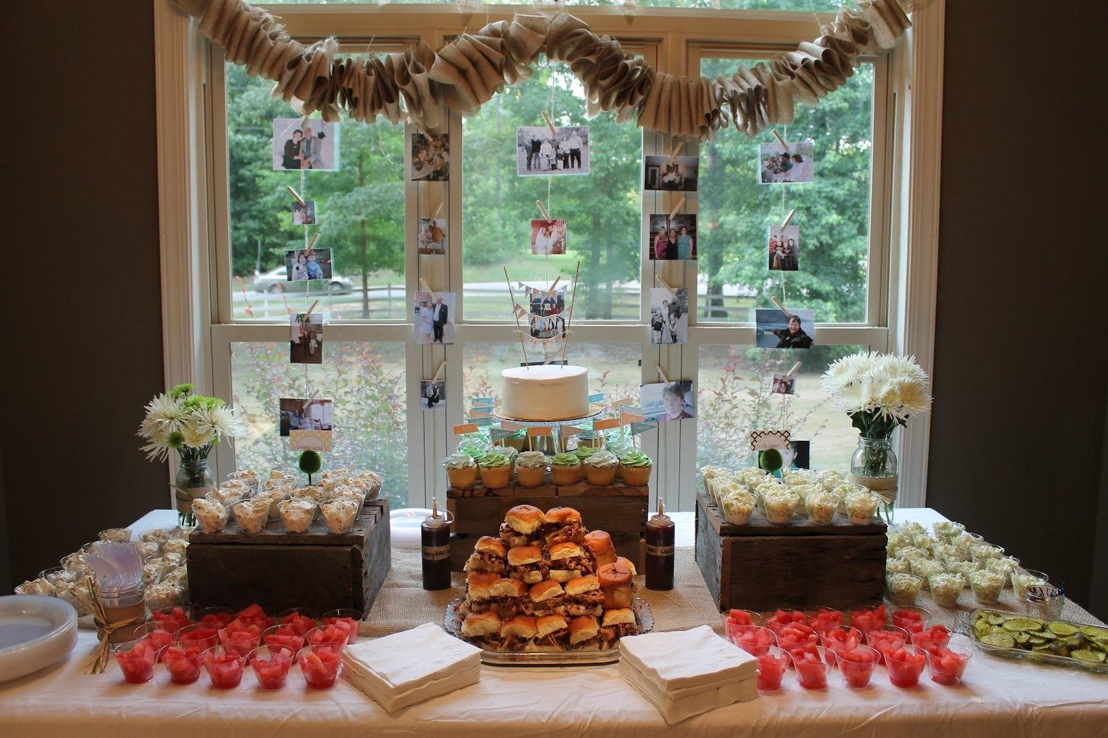10 Attractive 50Th Birthday Party Ideas For Mom barbeque and burlap a surprise 50th birthday party life in the 16 2020
