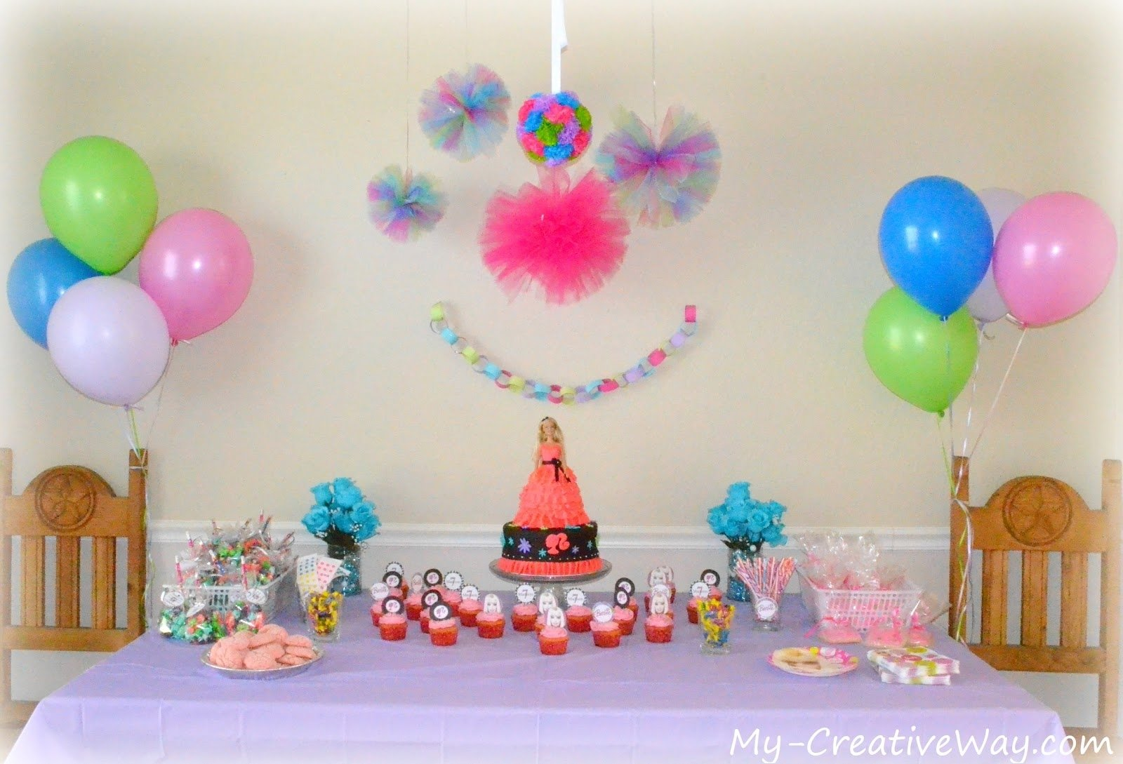 10 cute ideas for birthday parties at home