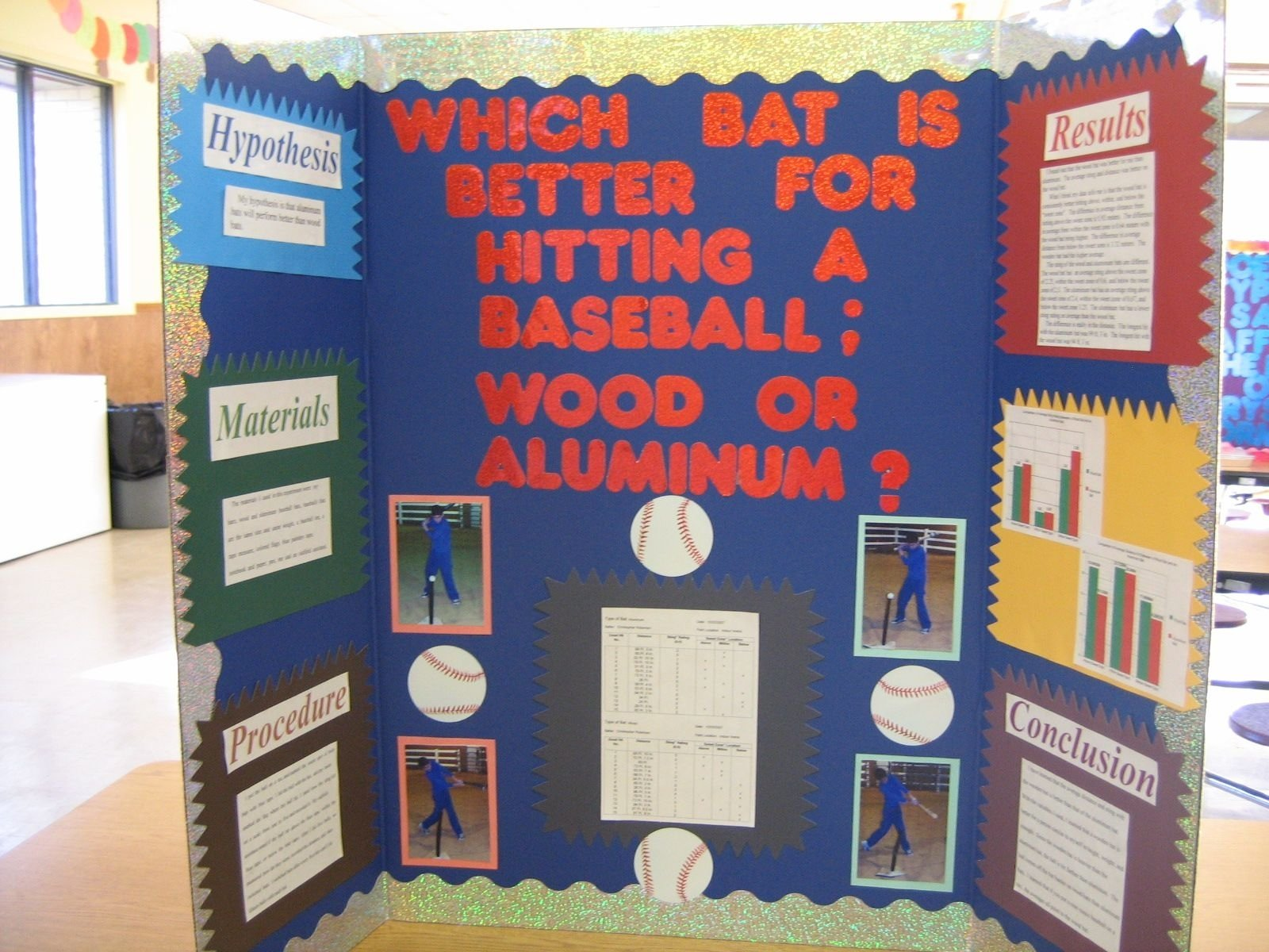 10 Awesome Sports Science Fair Project Ideas baseball bat science fair project which bat is better for hitting