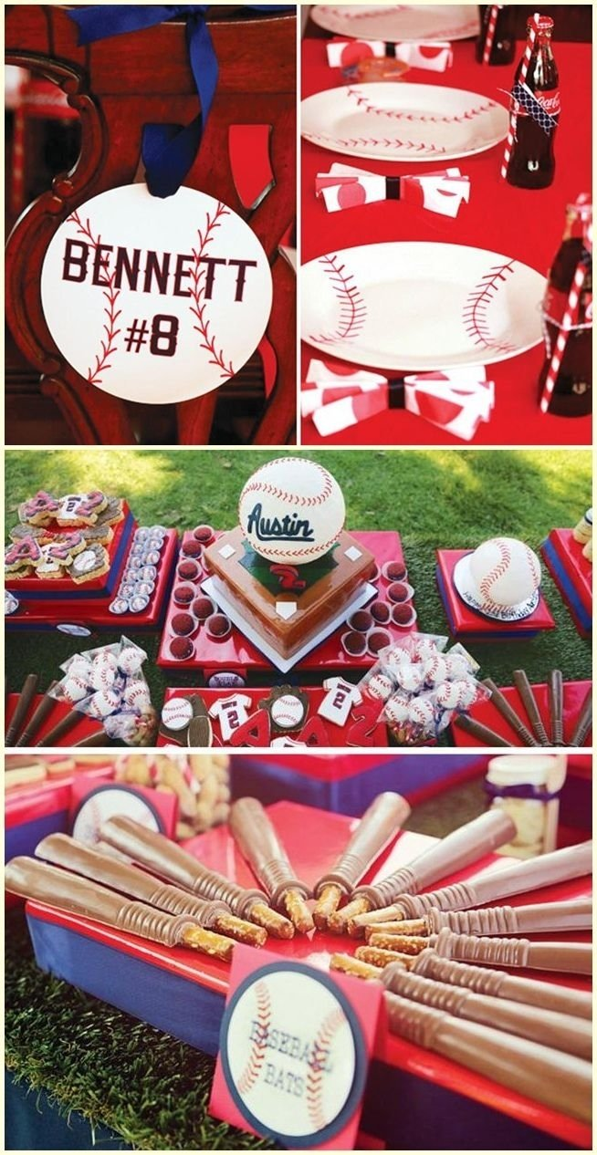baseball birthday party centerpiece ideas baseball themed birthday