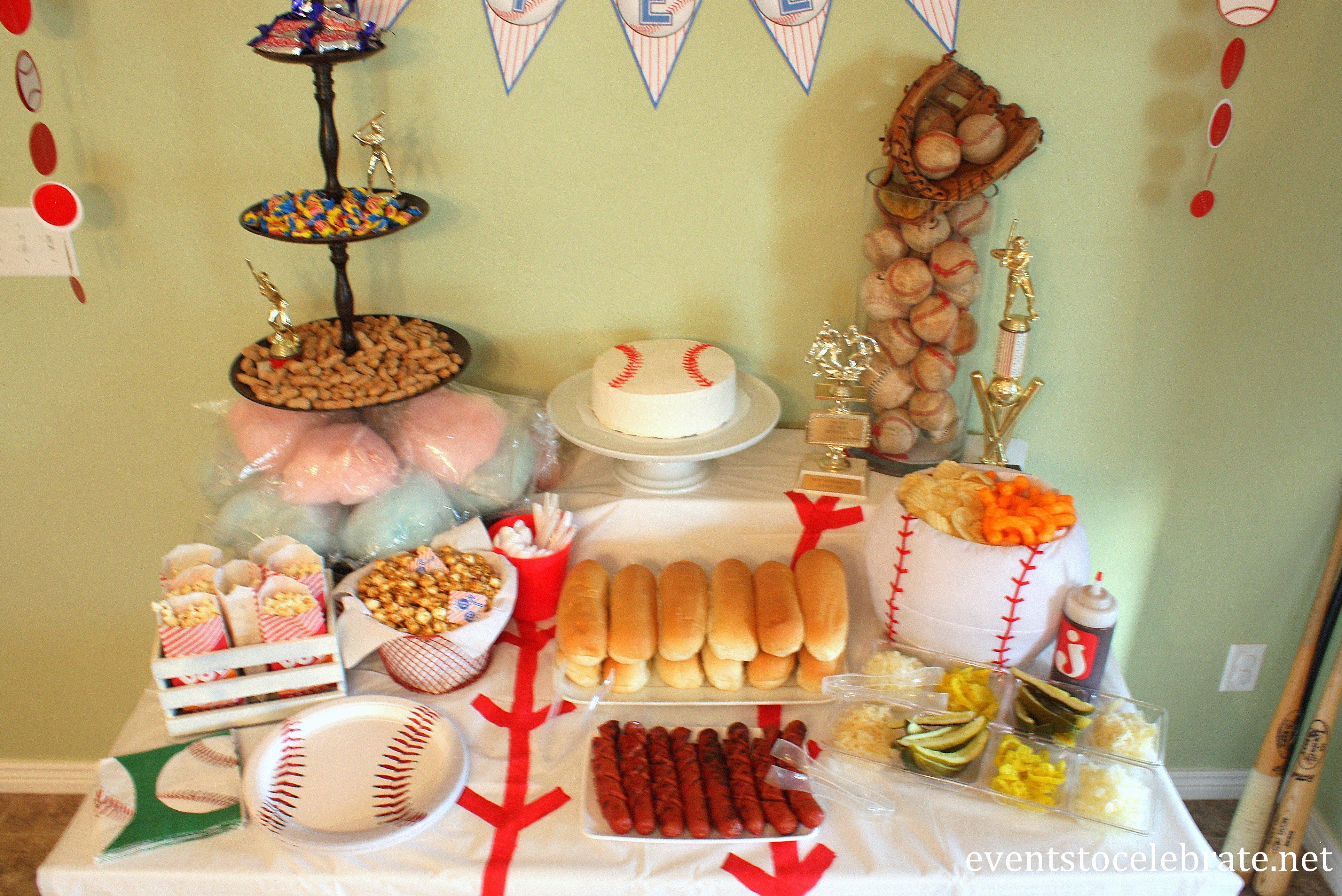 10 Ideal Baseball Themed Birthday Party Ideas