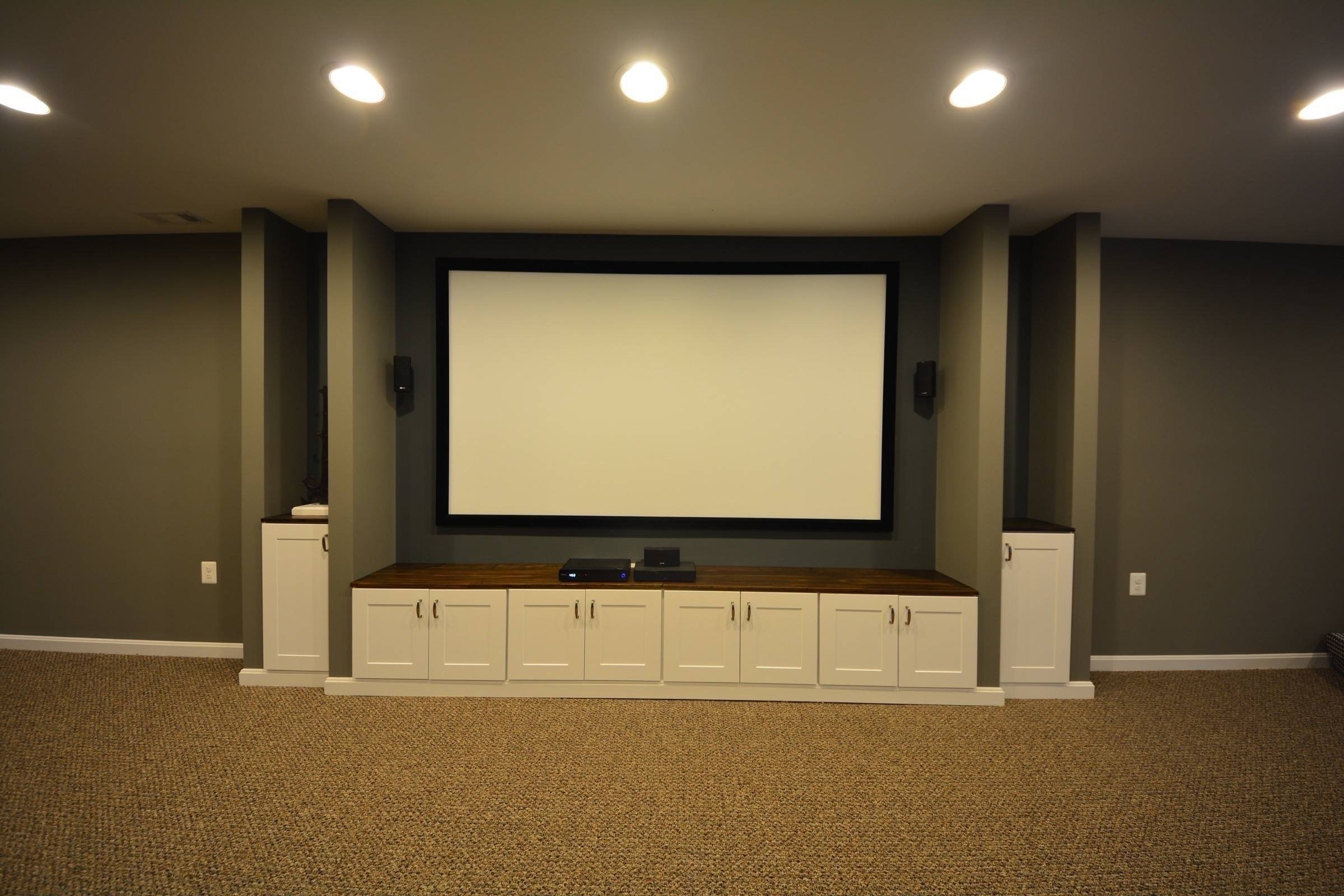 10 Awesome Built In Entertainment Center Ideas basement entertainment center ideas basement masters 2020