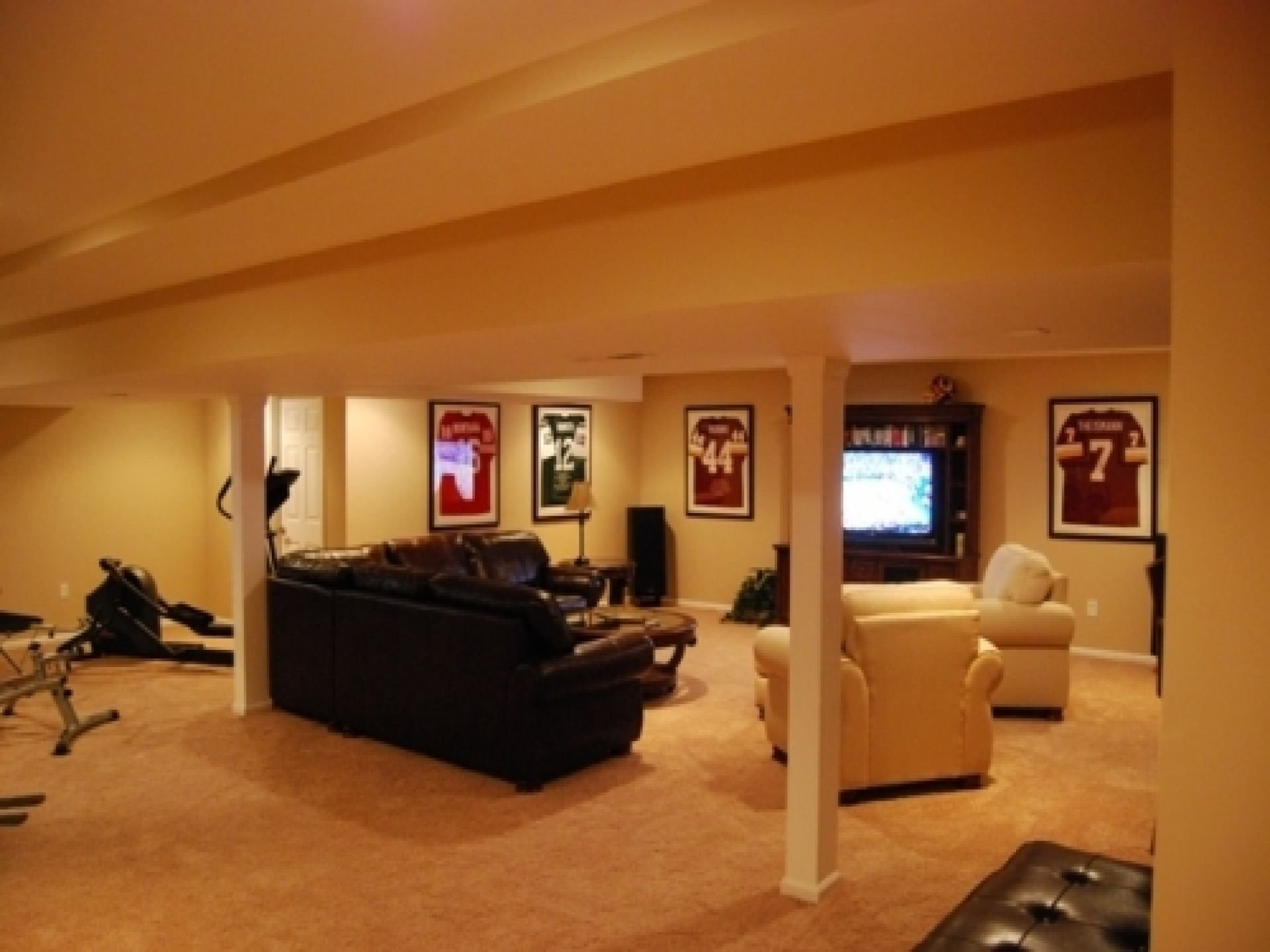 10 Stunning Finished Basement Ideas On A Budget basement ideas on a budget smalltowndjs morgan home 2020