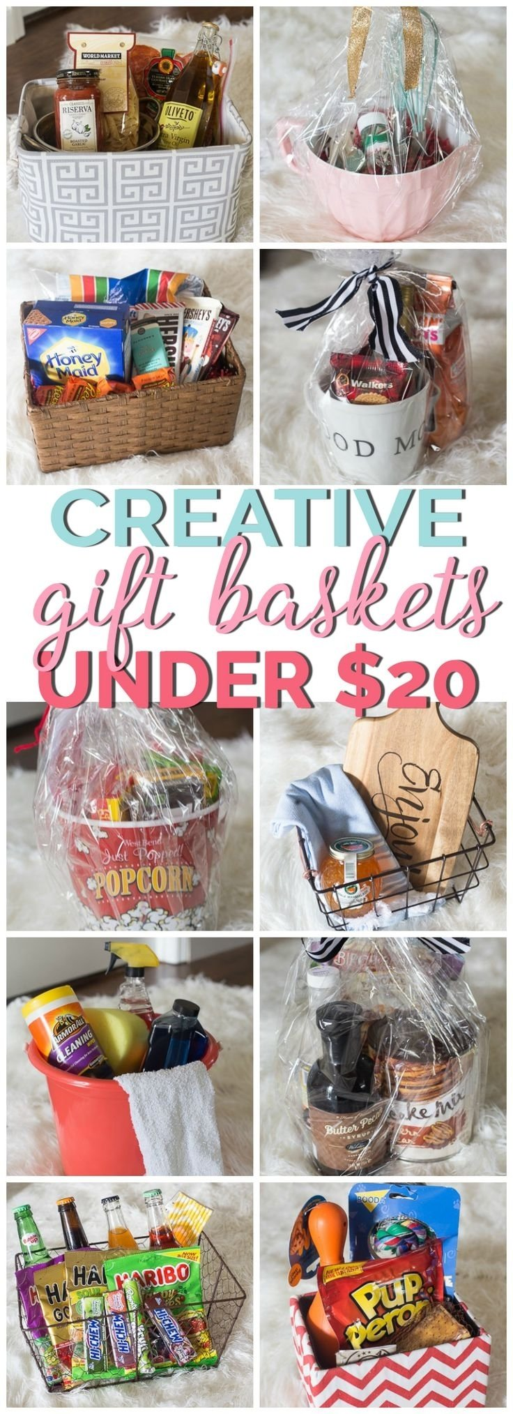 10 Unique Christmas Gift Ideas On Pinterest basket cheap baskets for gifts 25 best gift ideas on pinterest 2020