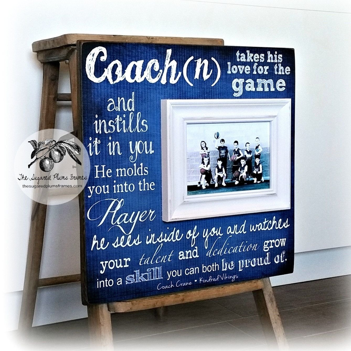 basketball coach gift, coach gift idea, soccer coach, football coach