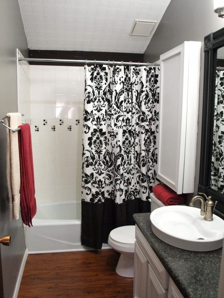 bathroom ~ and black bathroom ideas red and black bathroom decor red
