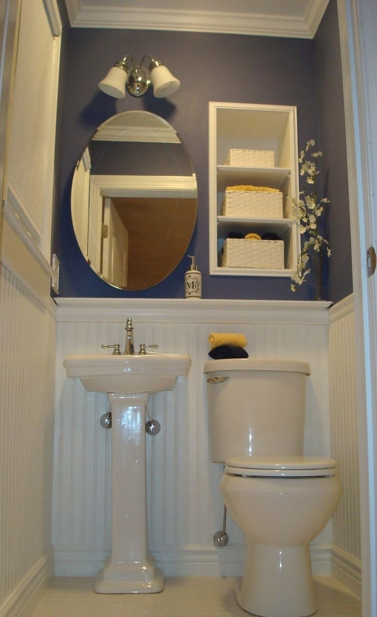bathroom ideas for small powder rooms • bathroom ideas