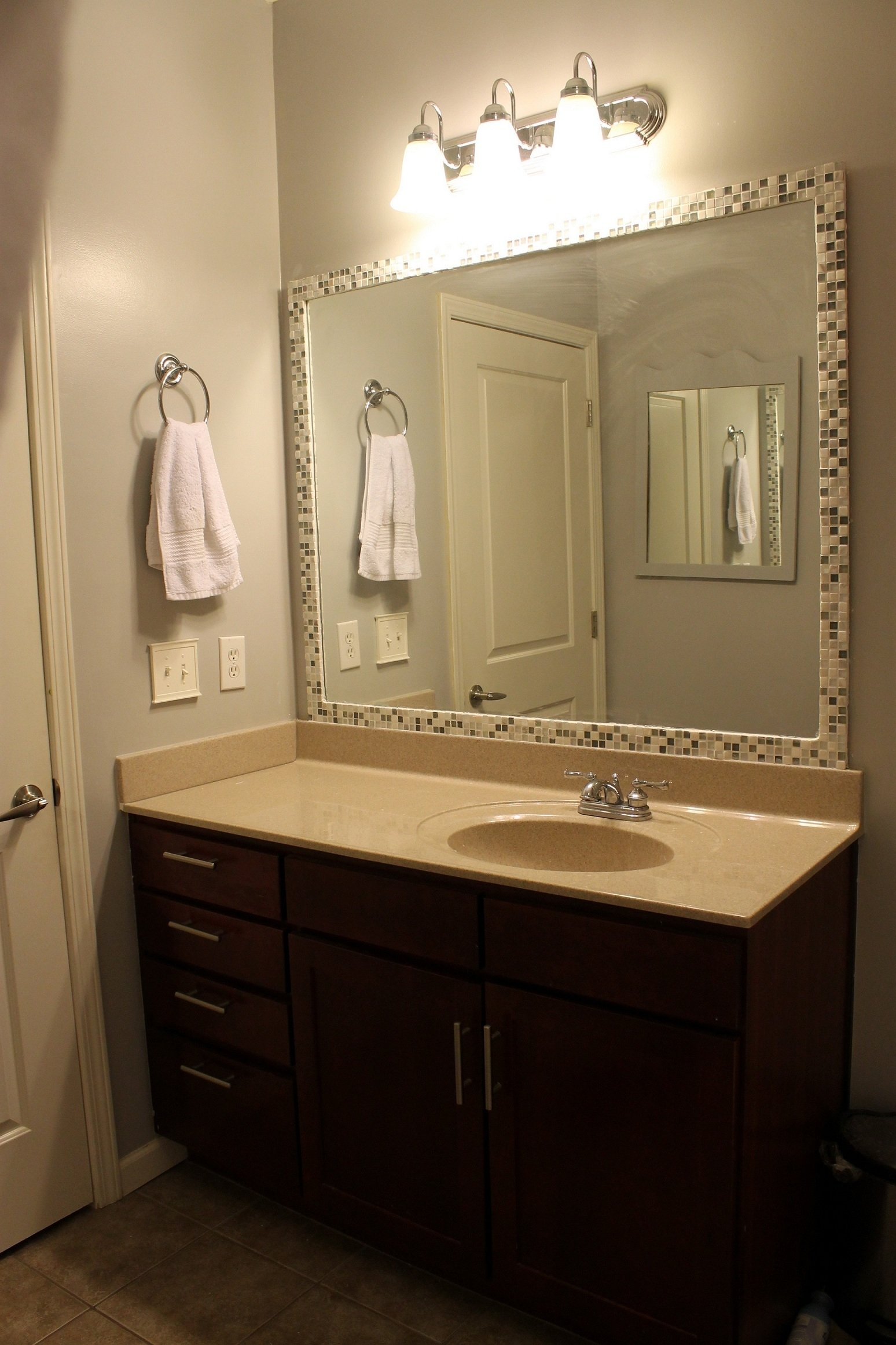 bathroom mirror framing ideas • bathroom mirrors ideas