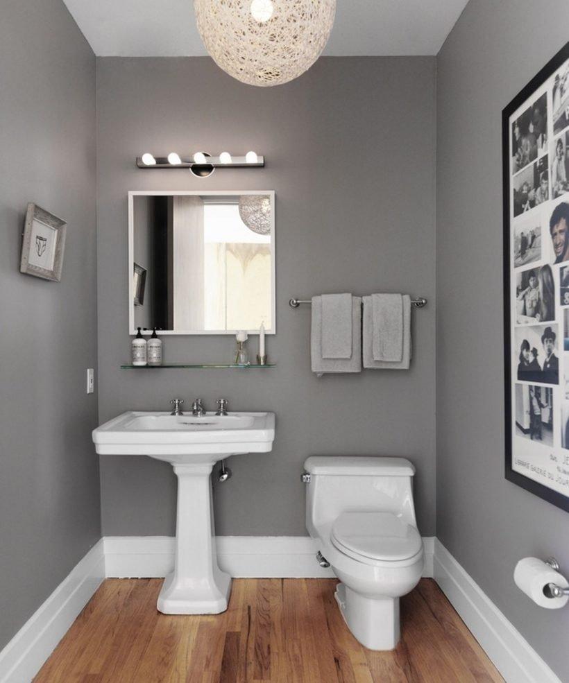 10 Lovable Gray And White Bathroom Ideas bathroom narrow grey bathroom ideas with white bath fixtures in 2020