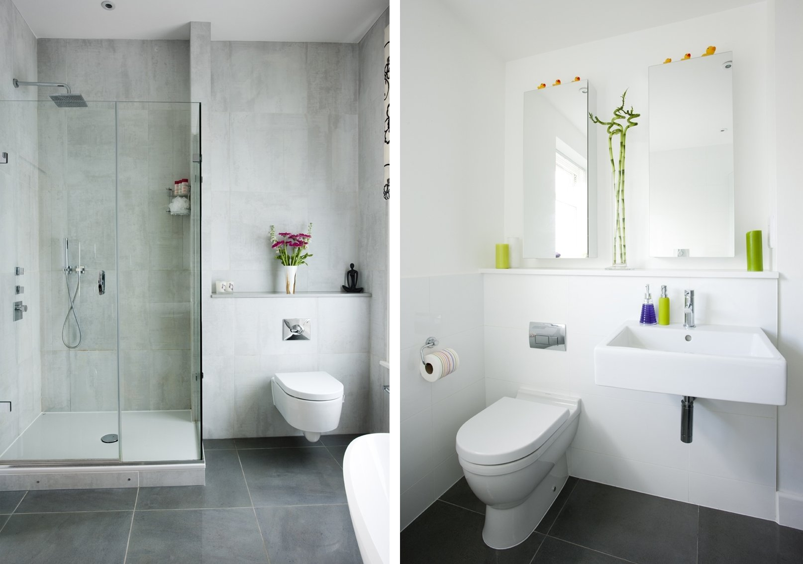 10 Elegant Grey And White Bathroom Ideas bathroom posh grey bathroom ideas with tiles furniture and small 2020