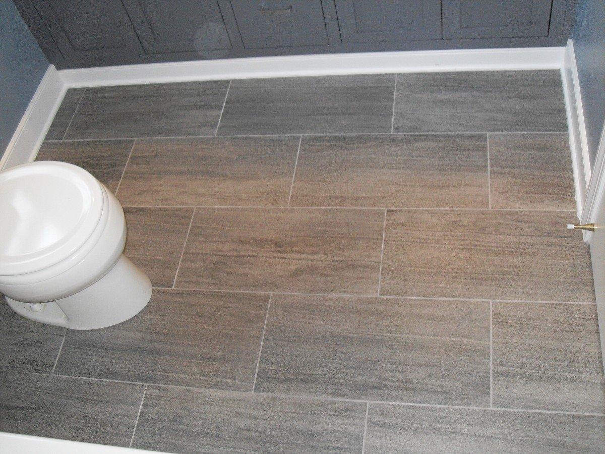 10 Wonderful Small Bathroom Tile Floor Ideas bathroom renovations cool water inexpensive beautiful restroom slip 2020