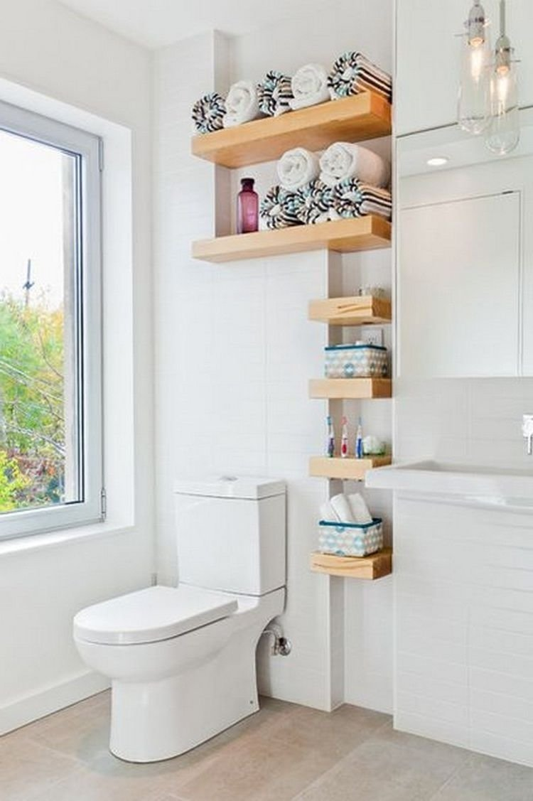 10 Beautiful Towel Rack Ideas For Small Bathrooms