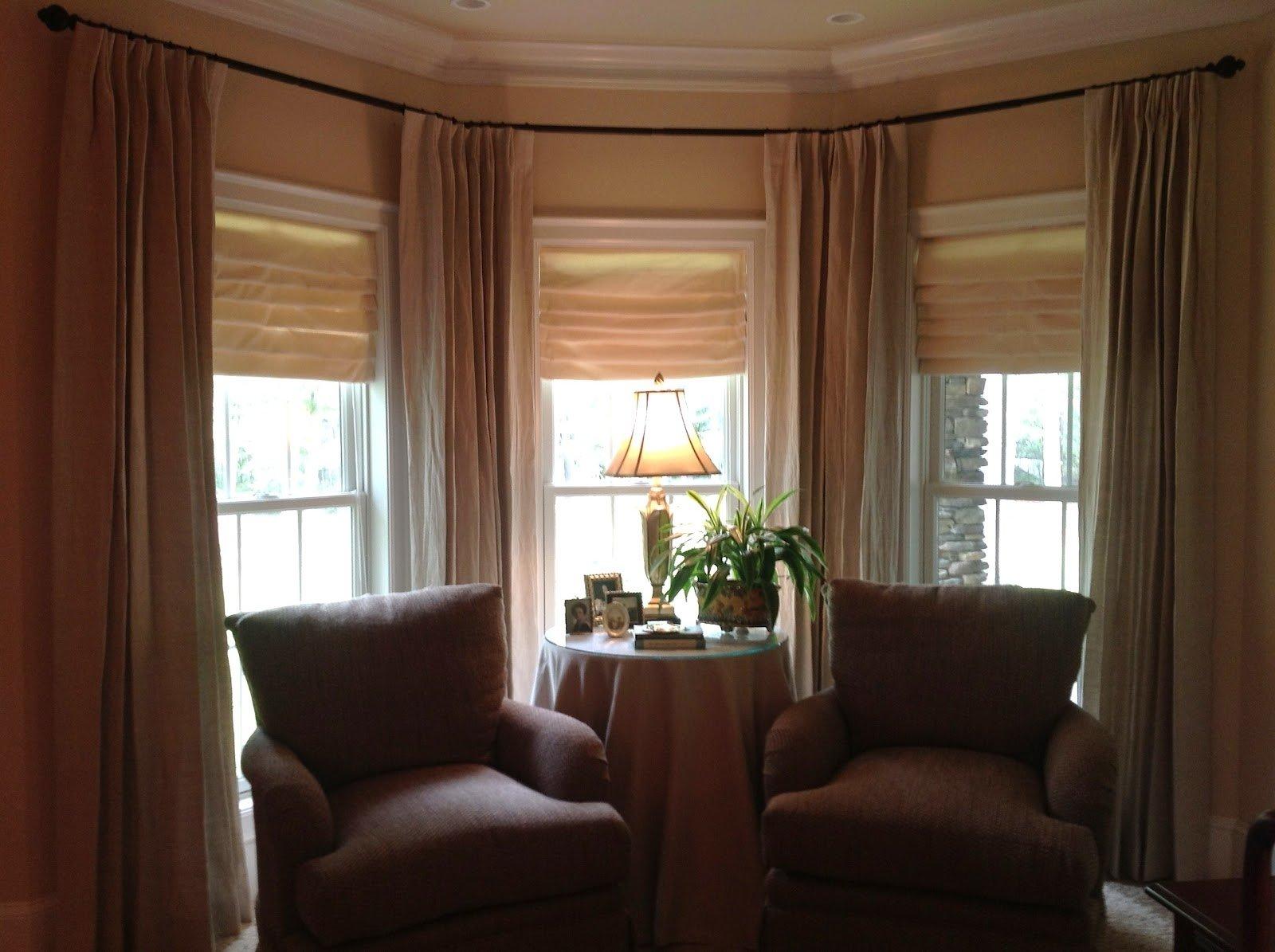 10 Wonderful Bay Window Treatment Ideas Pictures bay window curtain ideas treatments kitchen dma homes 6704 2020