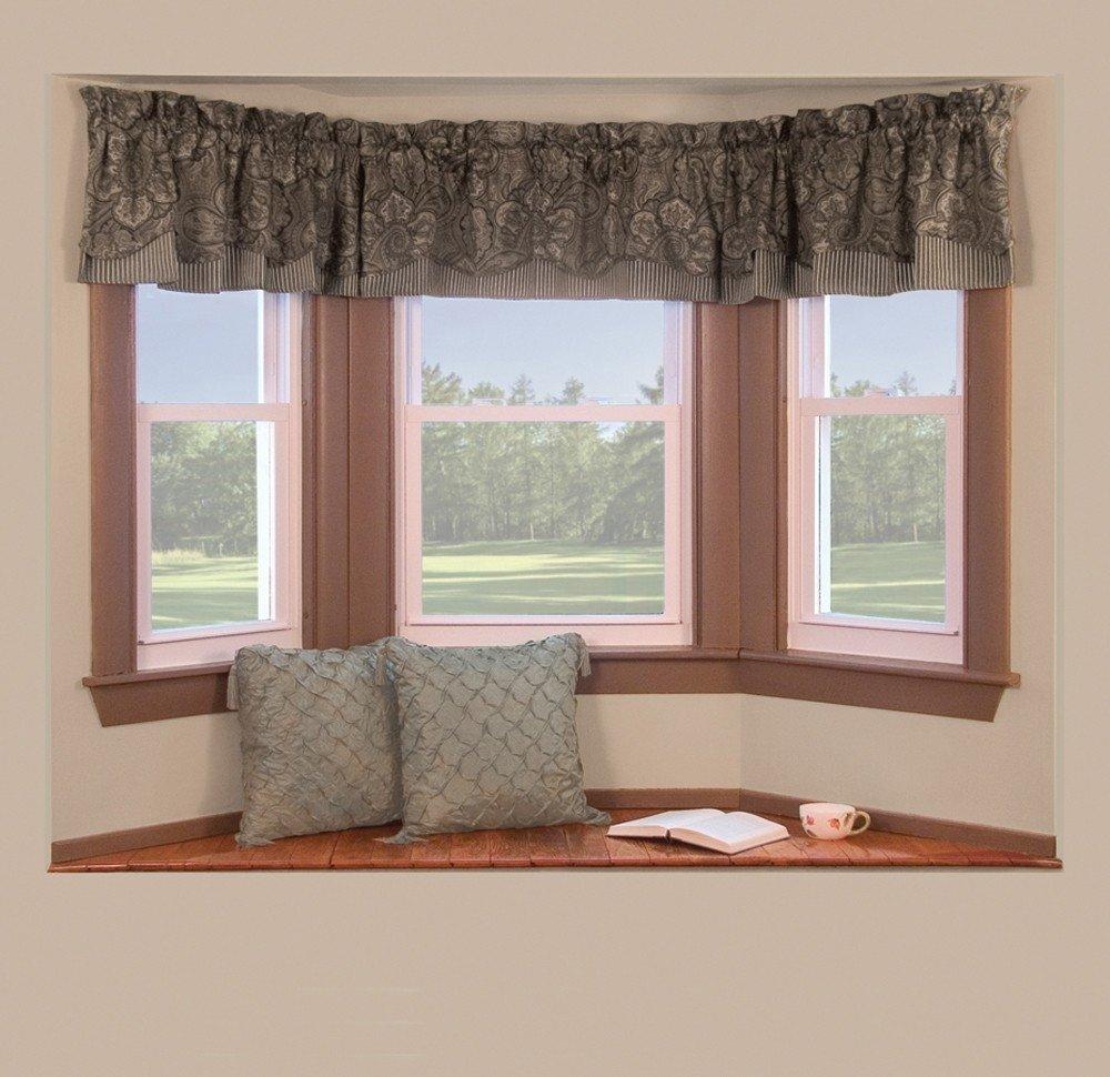 10 Wonderful Bay Window Treatment Ideas Pictures bay window curtain is cool bay window curtain treatment ideas is 2020