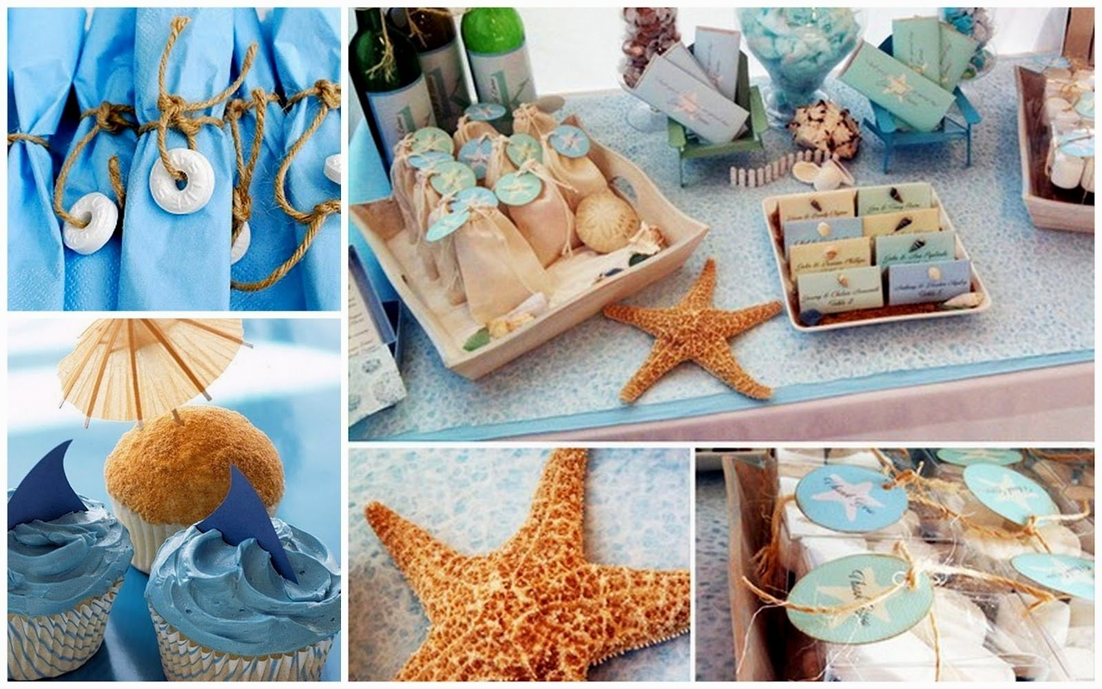 beach birthday party ideas for adults - decorating of party