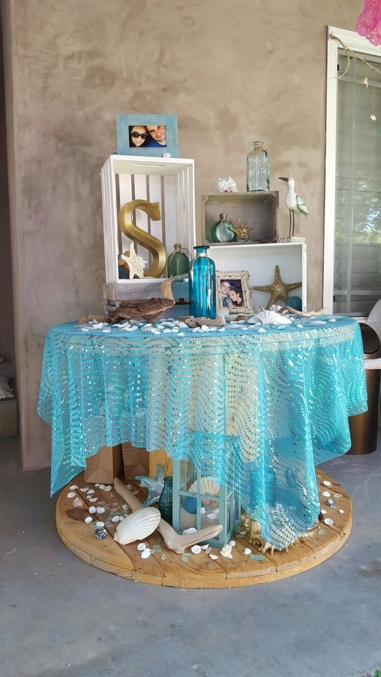 10 Great Beach Theme Bridal Shower Ideas beach bridal shower theme ideas decorations ariels wedding 2020