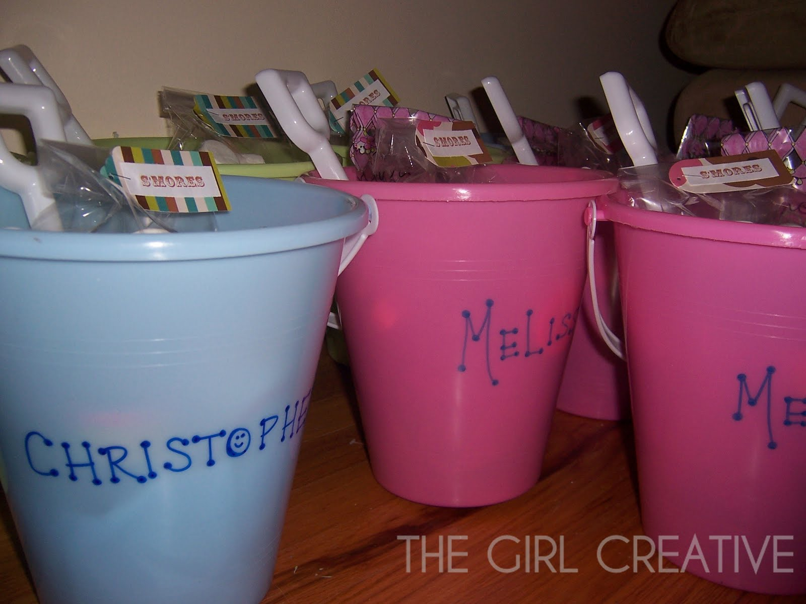 10 Lovely Goody Bag Ideas For Girls beach pail goody bags for summer birthday party the girl creative 2020