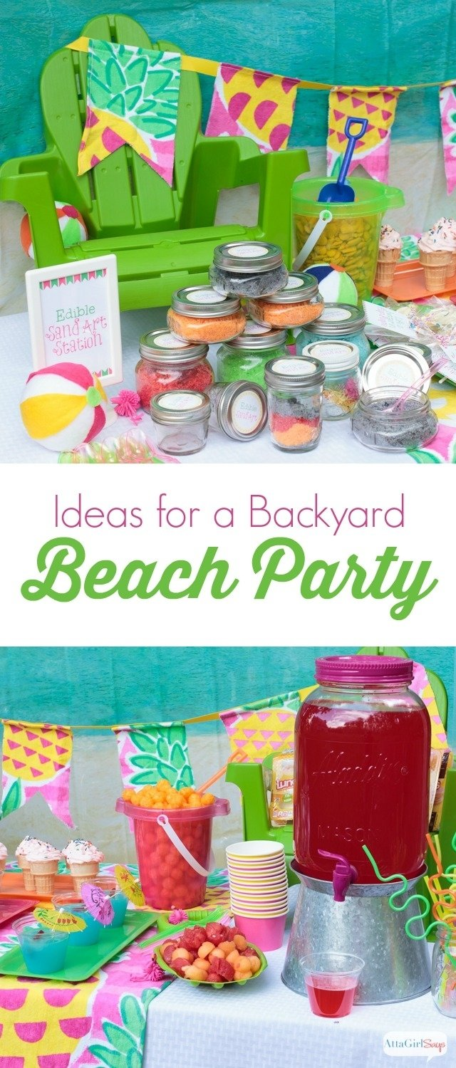 10 Gorgeous Beach Party Ideas For Kids beach party ideas for the backyard kids will love these 1 2020