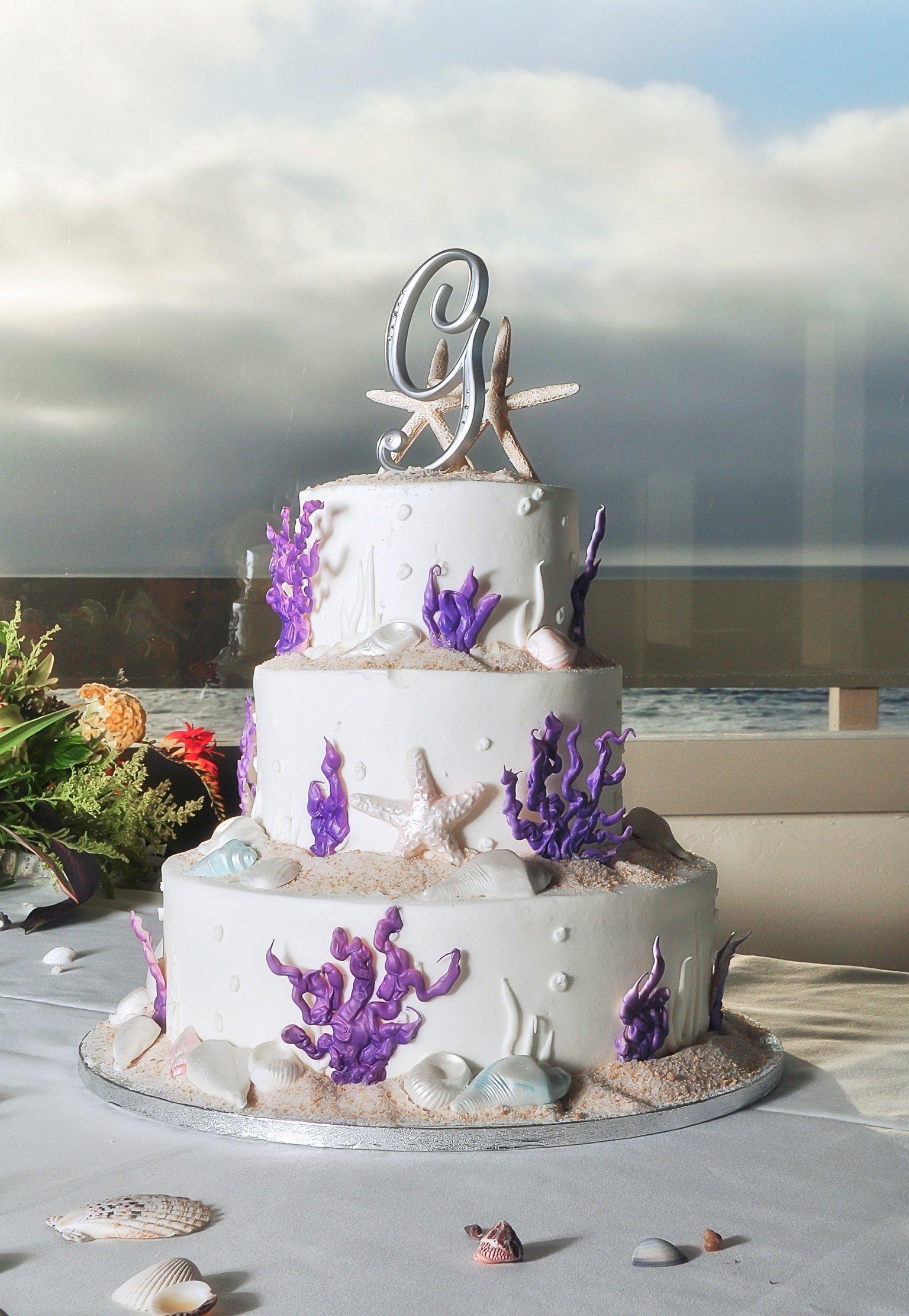 10 Stylish Beach Theme Wedding Reception Ideas beach themed wedding cake beach wedding inspiration pinterest 2020