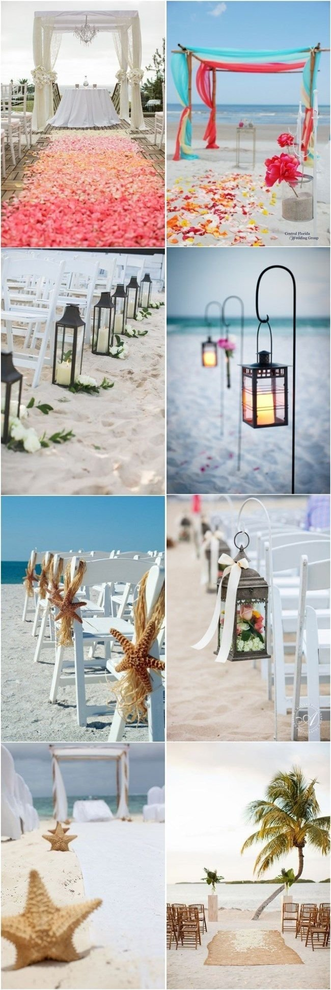 beach wedding decor ideas-beach wedding aisles | home improvement