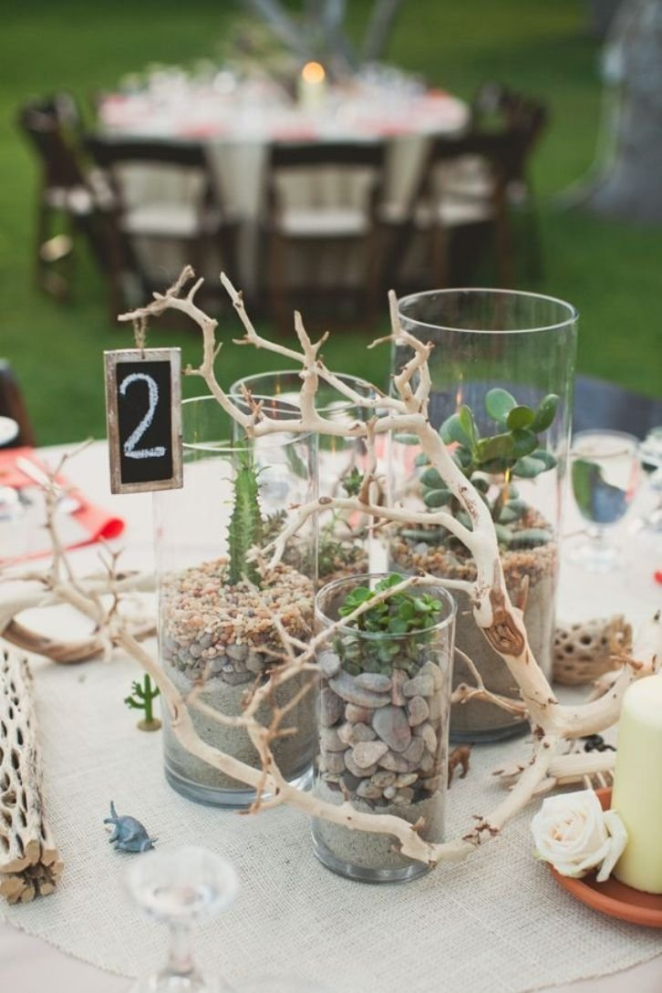 10 Fabulous Table Number Ideas For Wedding beach wedding table number ideas 6 uniquely yours wedding invitation
