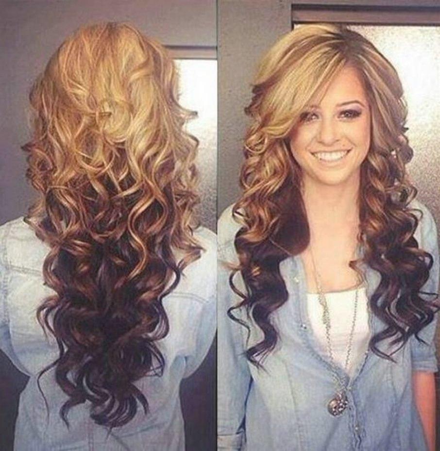 10 Fantastic 2 Tone Hair Color Ideas