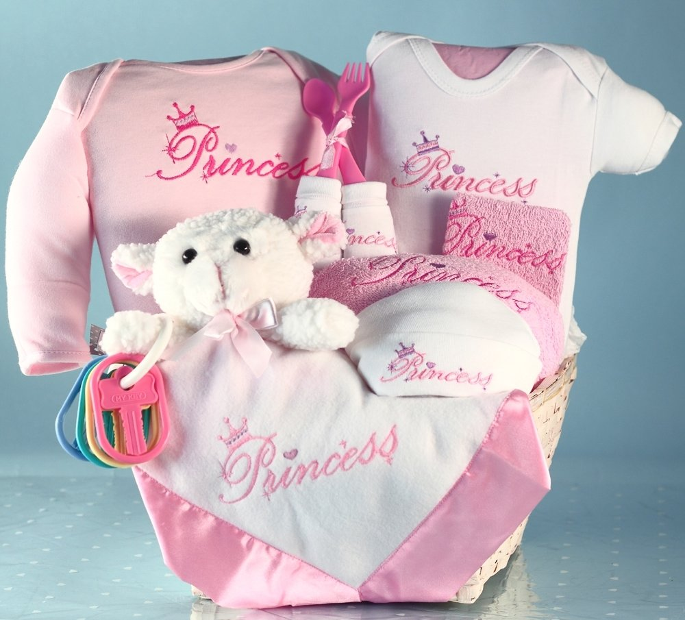 10 Lovable Baby Girl Gift Basket Ideas beautiful baby gift baskets fit for a princess
