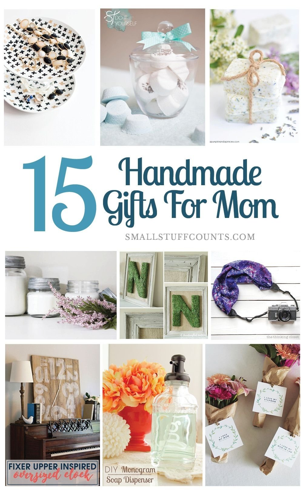 10 fashionable homemade gift ideas for mom
