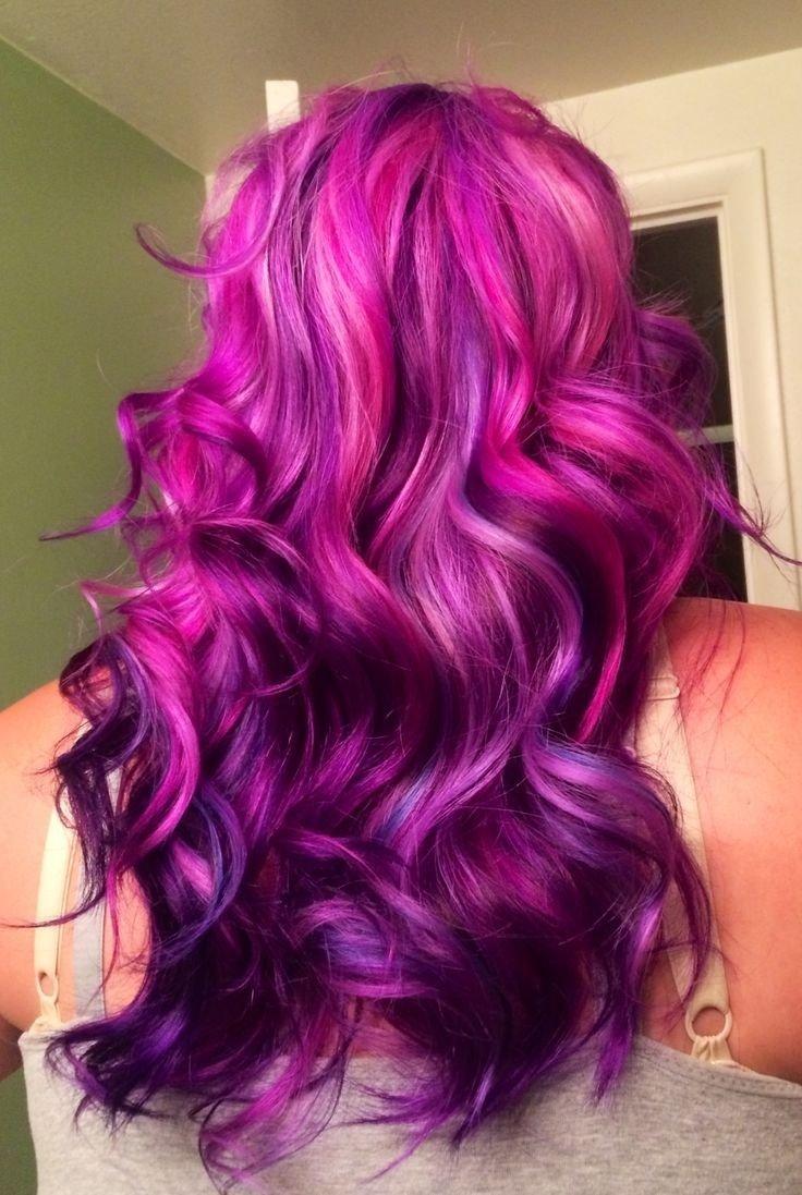 10 Wonderful Pink And Purple Hair Ideas beautiful hair color suggestions for 2016 beautiful hair color 2020