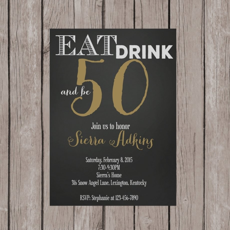 10 Best 50Th Birthday Party Invitations Ideas beautiful of 50th birthday party invitation beach invitations new 2020