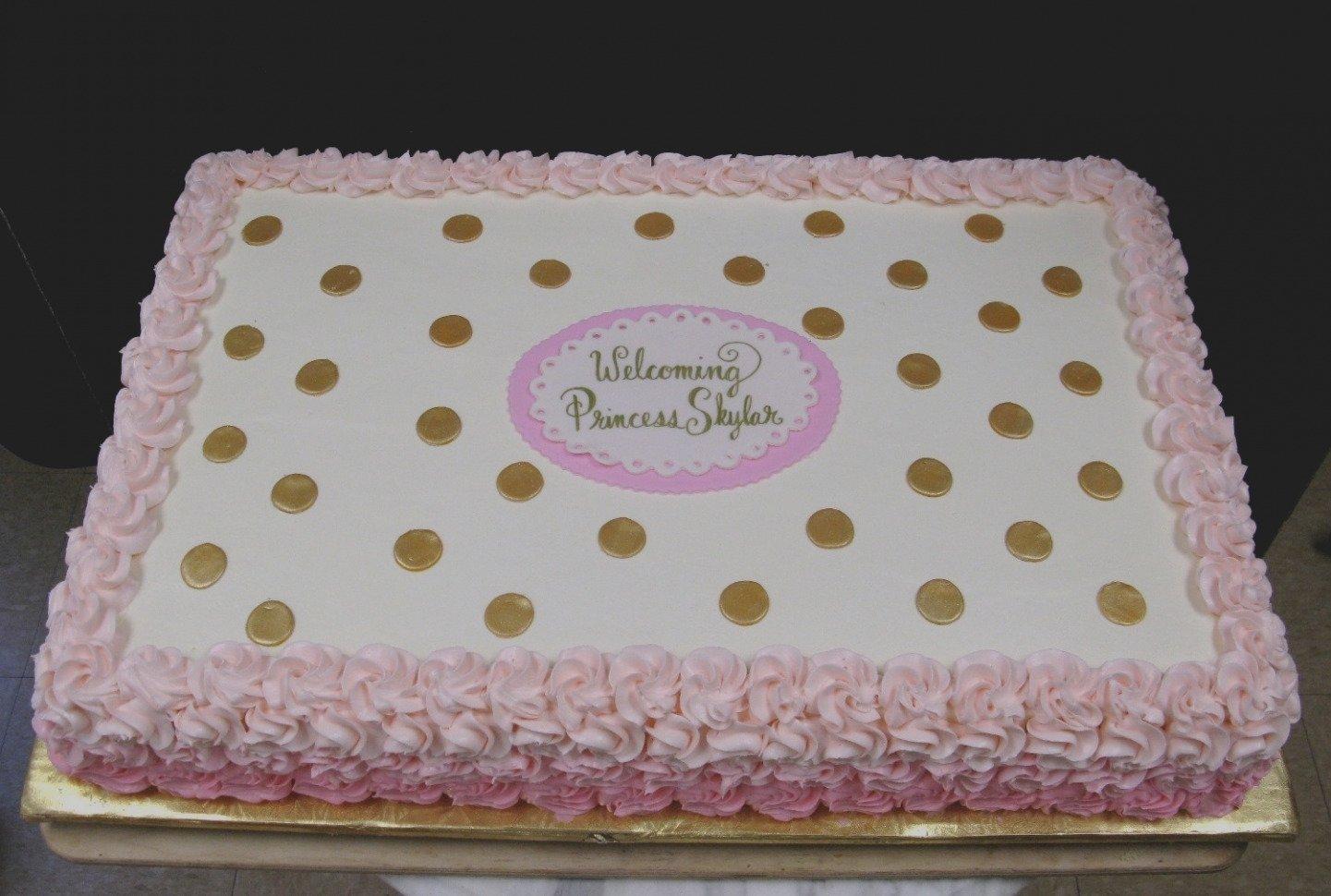 10 Nice Baby Shower Sheet Cake Ideas beautiful of baby shower sheet cake ideas cakes for girls ruffles 2021