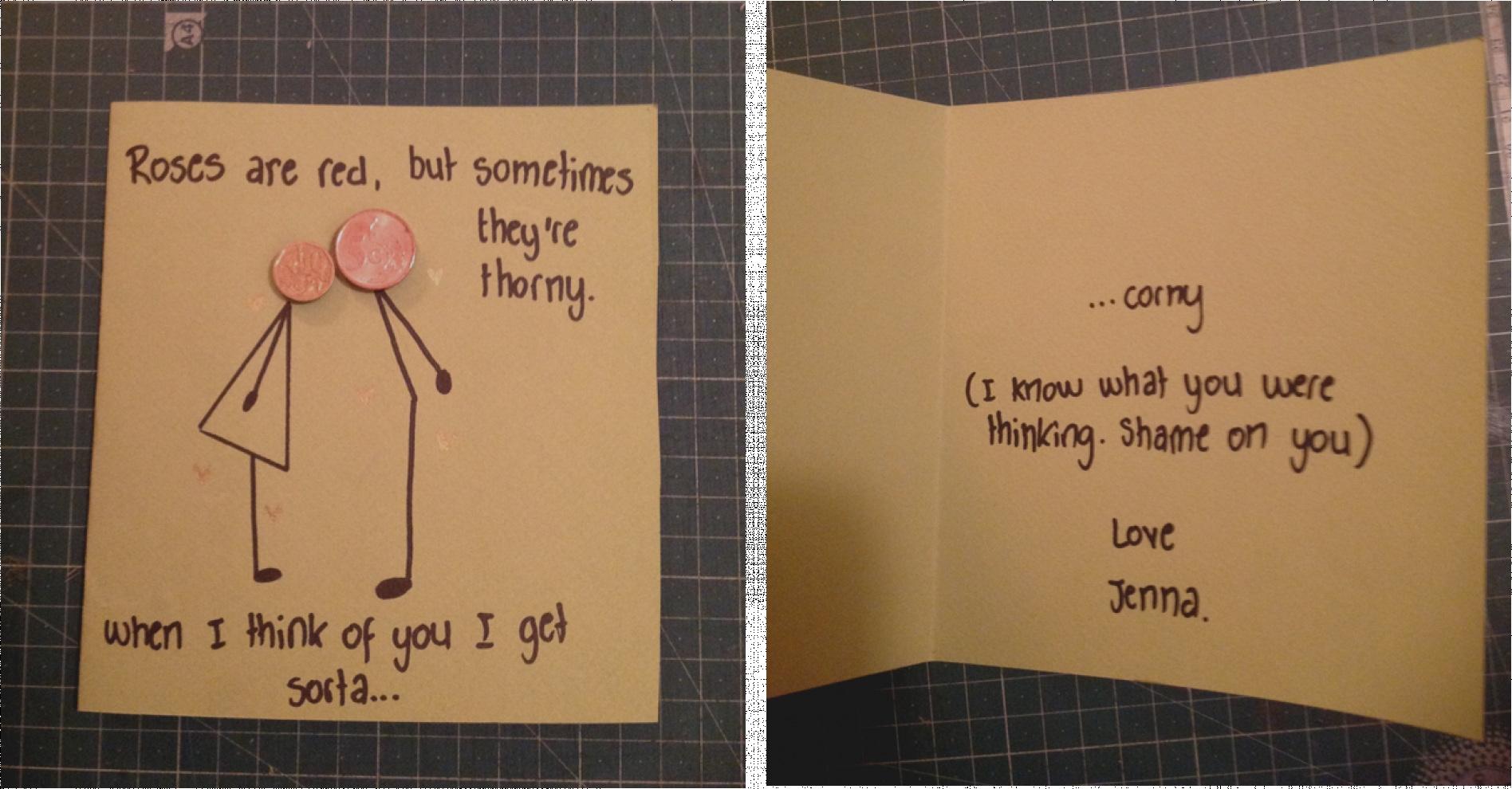 beautiful of cute birthday card ideas for your boyfriend home decor