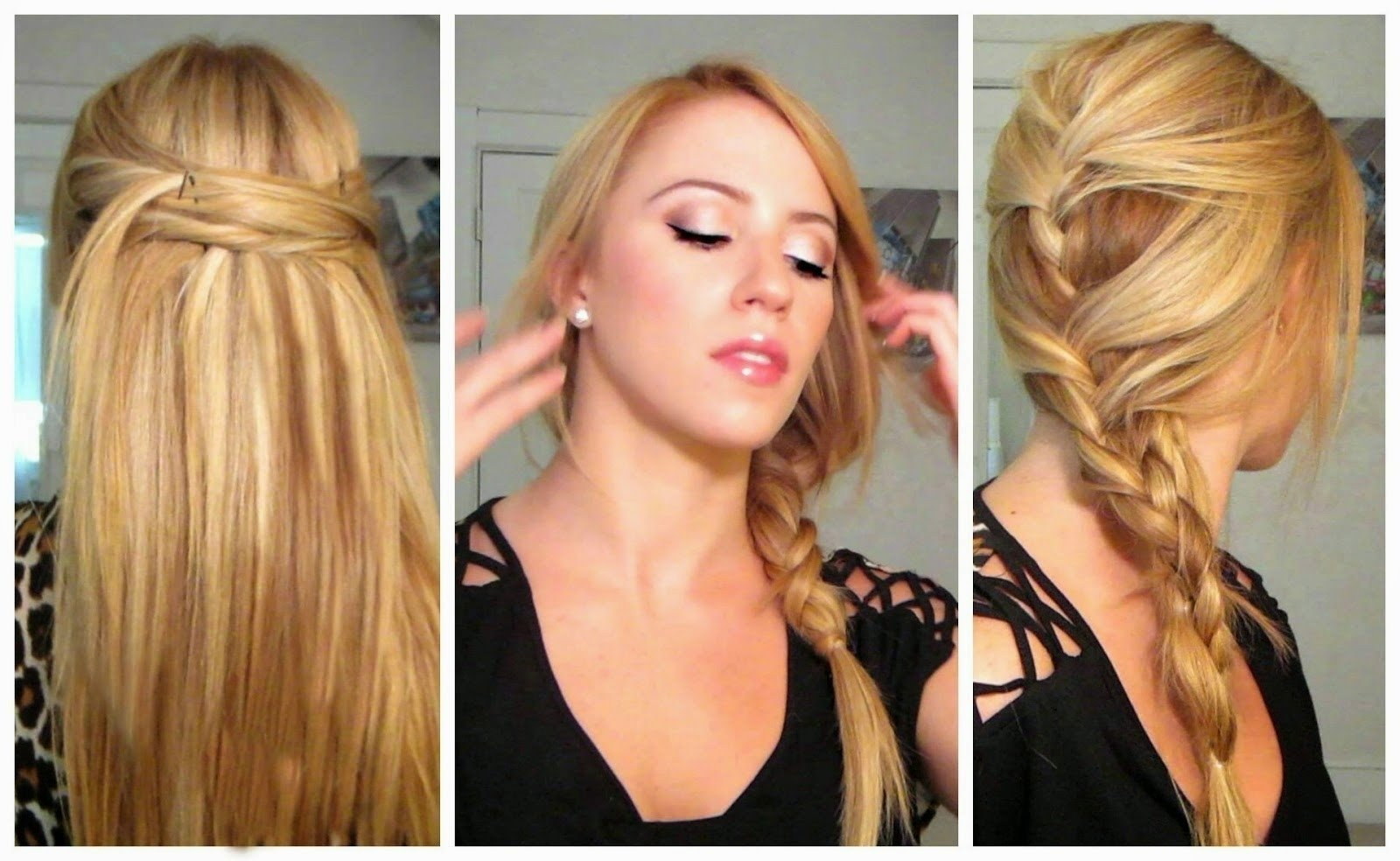 10 Stunning Easy Hair Ideas For Long Hair beautiful quick easy long hairstyles razanflight 2021