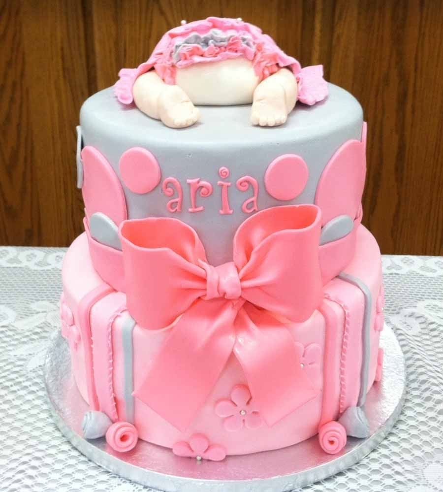 10 Perfect Baby Girl Shower Cake Ideas %name 2020