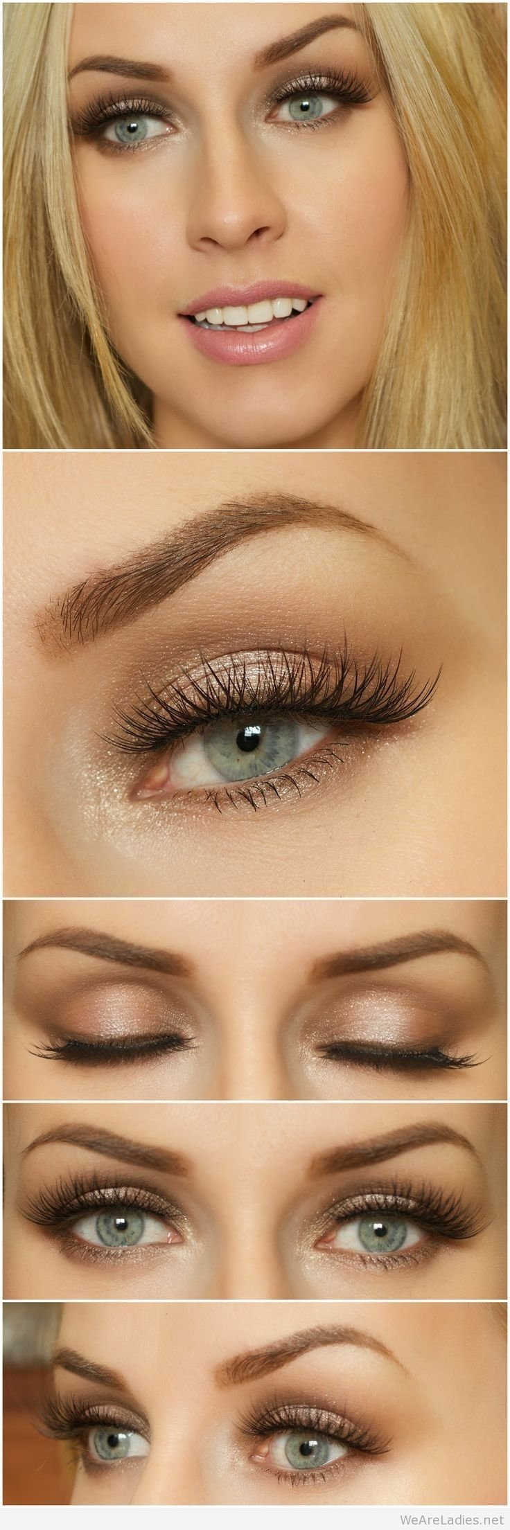 10 Perfect Wedding Makeup Ideas For Brown Eyes