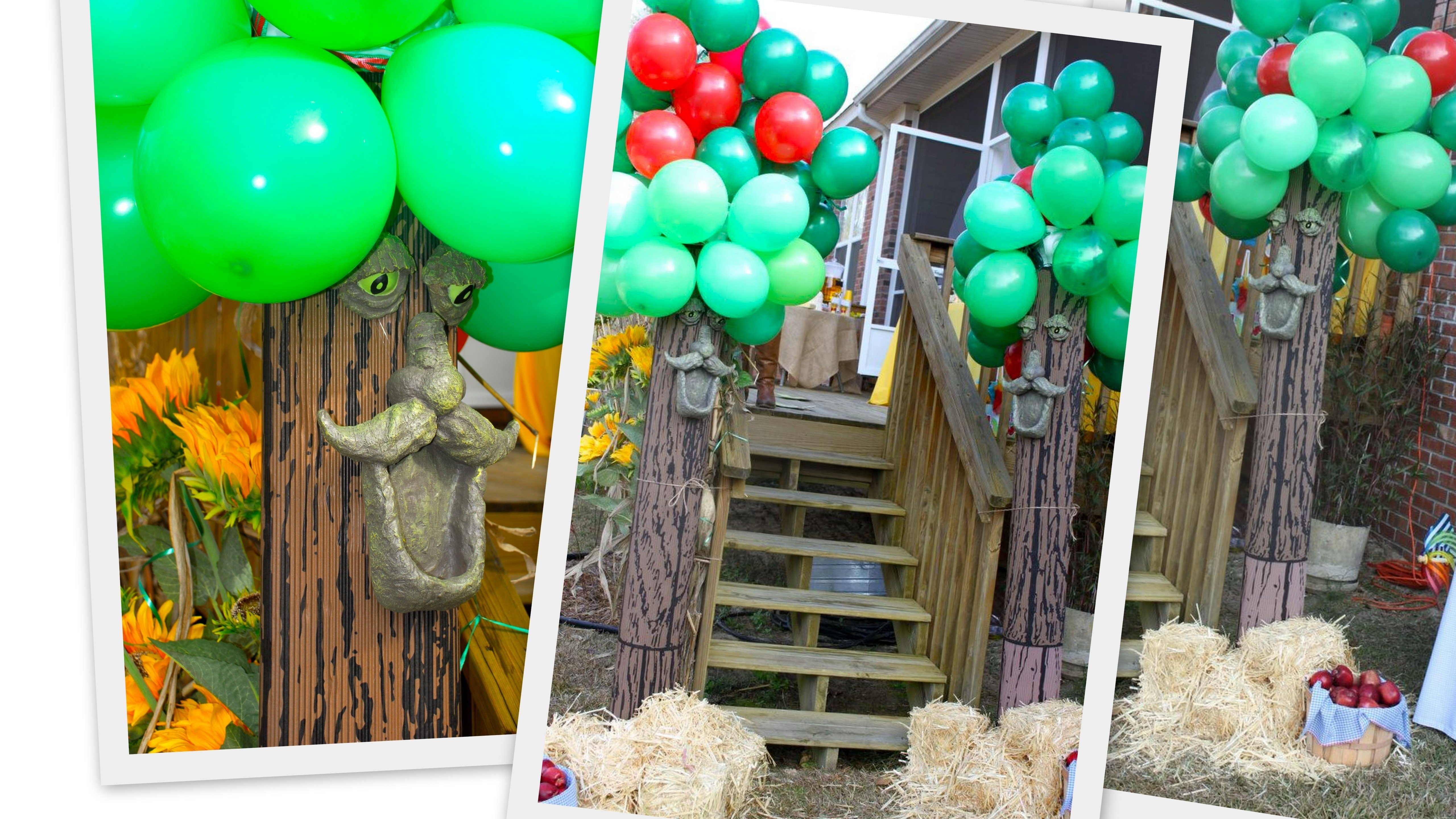 beautiful wizard of oz decoration ideas | land of oz | pinterest