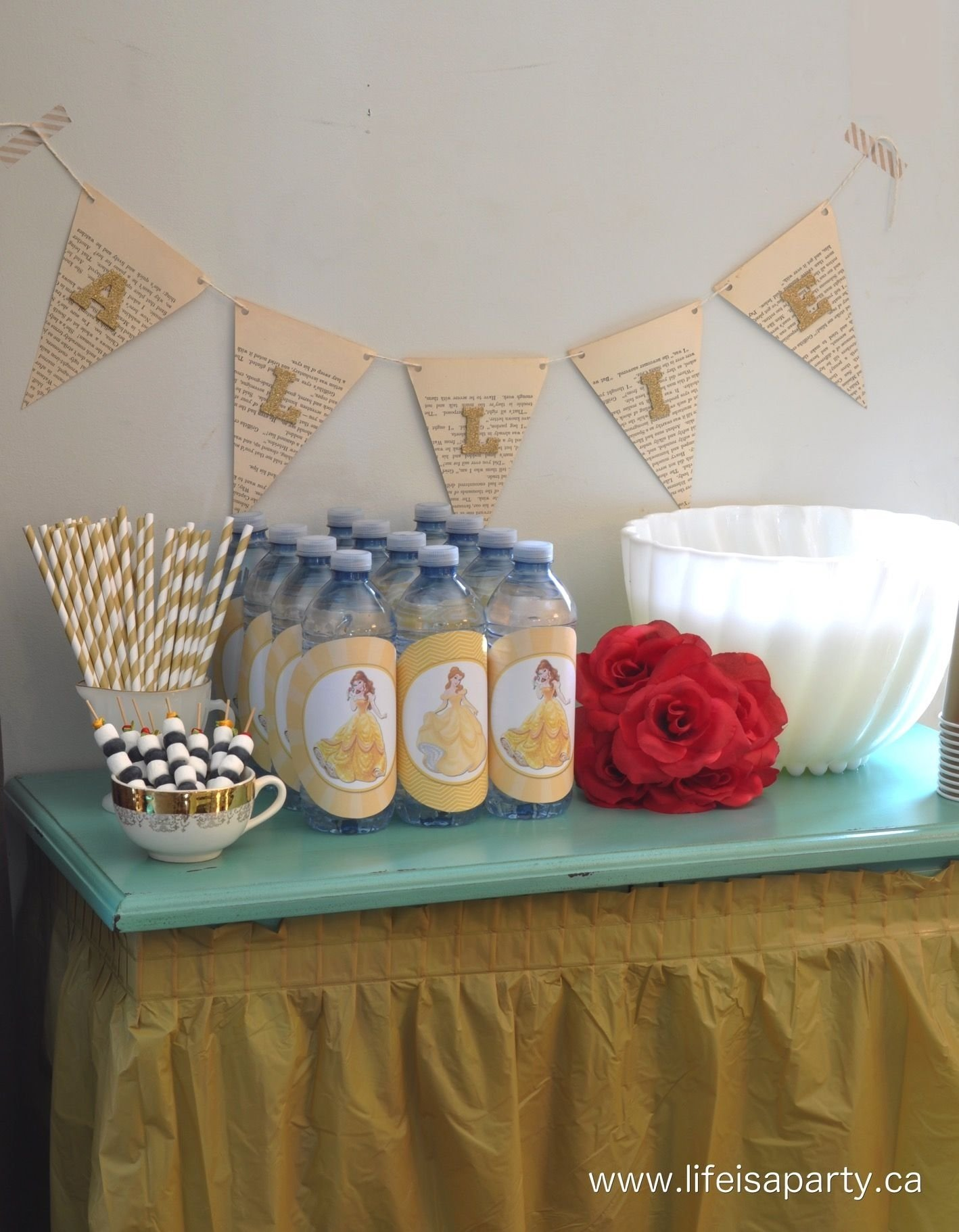 10 Great Beauty And The Beast Party Ideas beauty and the beast party an amazing beauty and the beast themed 1 2021