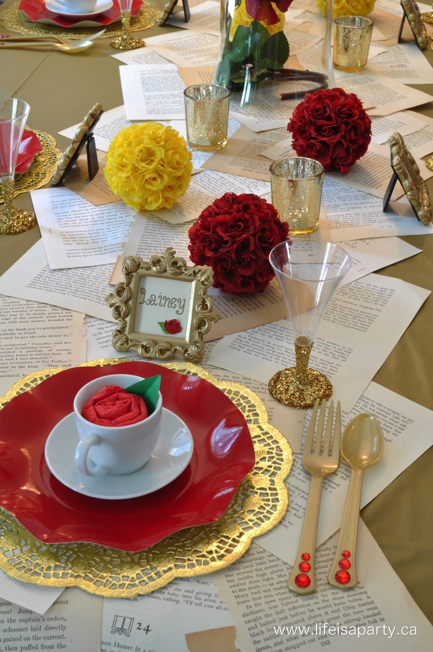 10 Great Beauty And The Beast Party Ideas beauty and the beast party decorations and food 1 2021