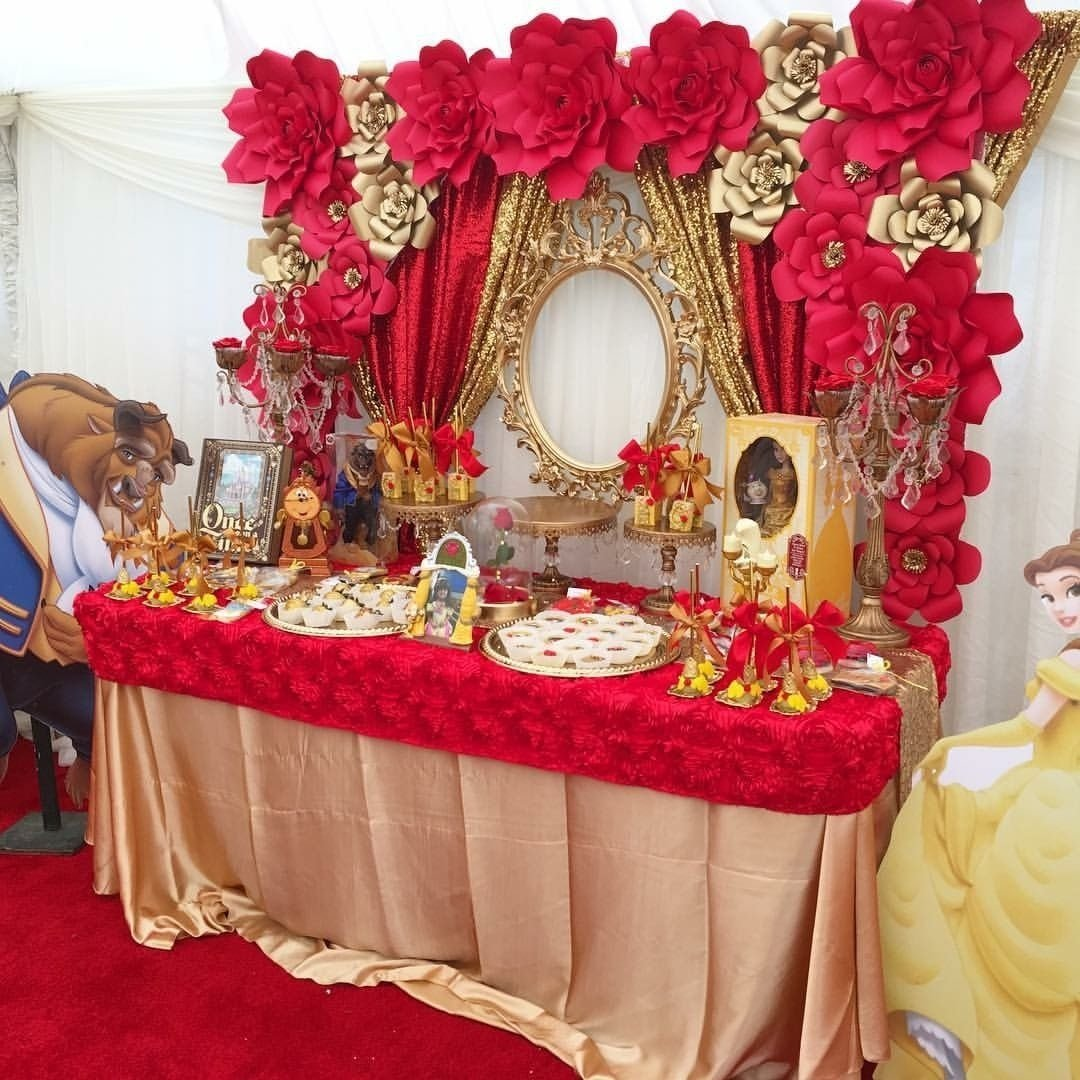 10 Great Beauty And The Beast Party Ideas beauty and the beast party ideas beast celebrations and southern 2021