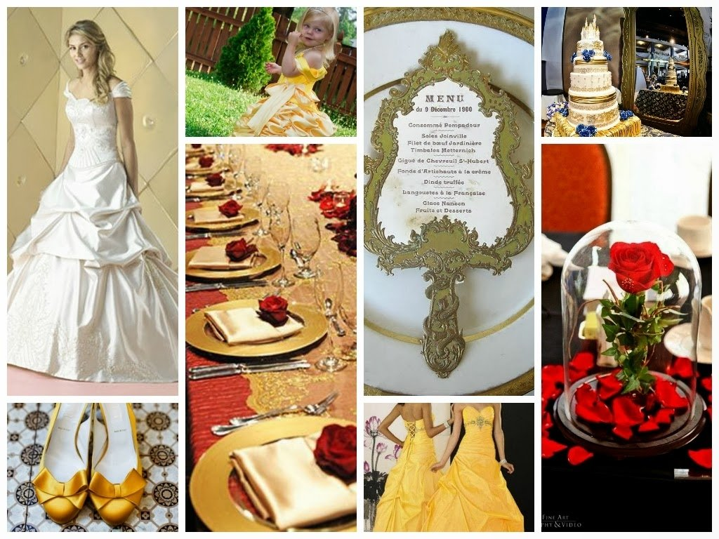 10 Gorgeous Beauty And The Beast Wedding Theme Ideas beauty and the beast wedding inspiration board classic style